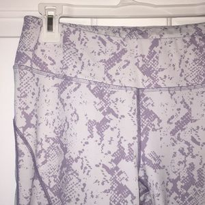 d6dce471bf Apana Other   Yoga White And Purple Marble Activewear   Poshmark